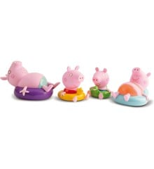 Peppa Pig - Bath Toy - Peppa with Family