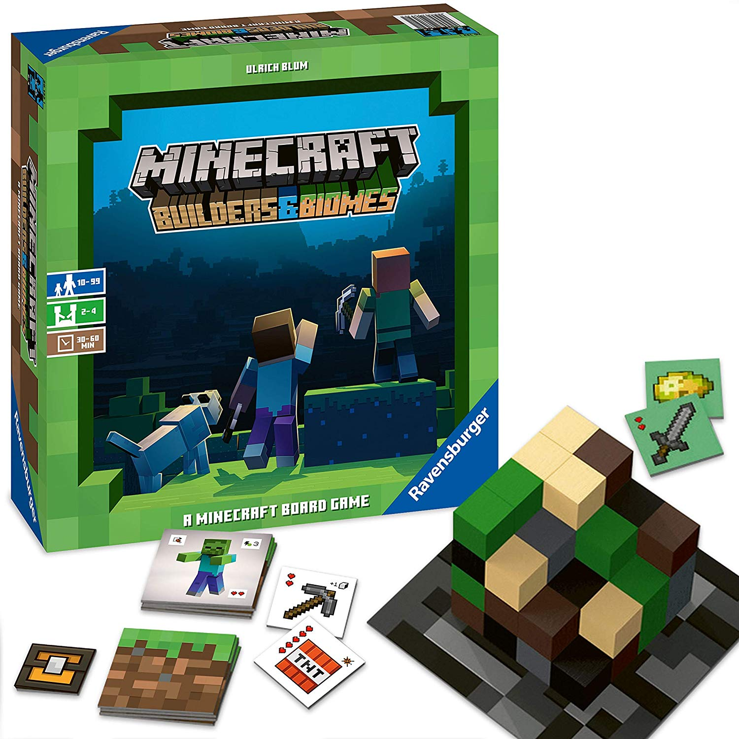 Buy Minecraft Builders Biomes The Board Game English