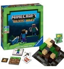 Minecraft - Builders & Biomes - The Board Game (English) (PEG26132)