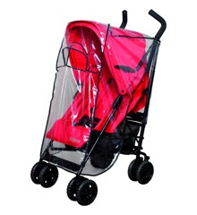 Babytrold - Transparent Stroller Rain Cover