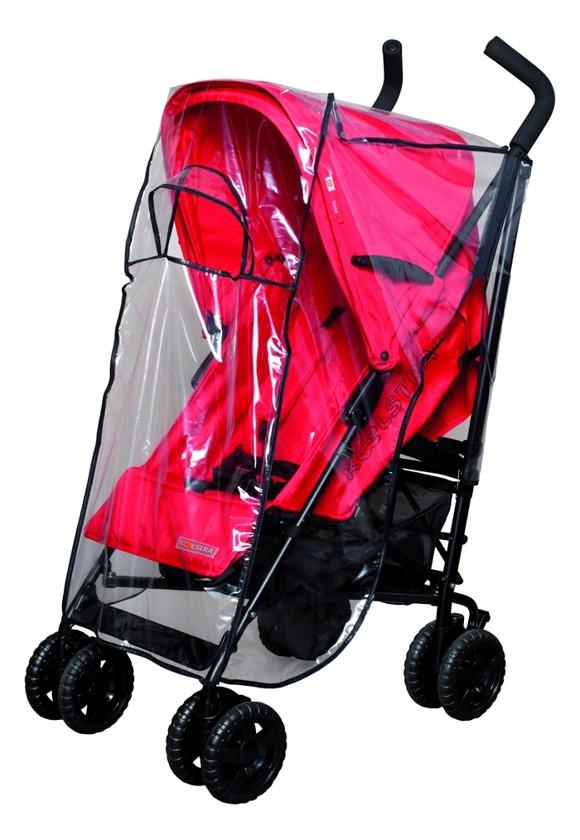 Babytrold - Transparent Stroller Rain Cover