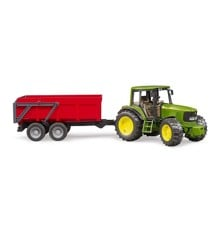 Bruder - John Deere 6920 with tipping trailer , red (BR2057)