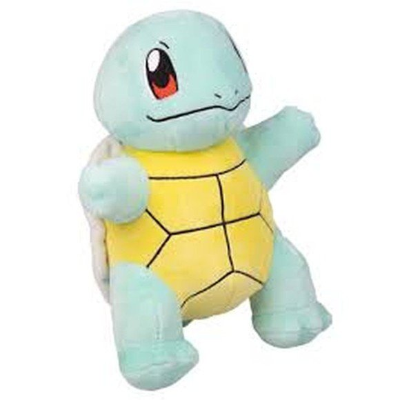 Pokemon - Plys Bamse 20 cm - Squirtle
