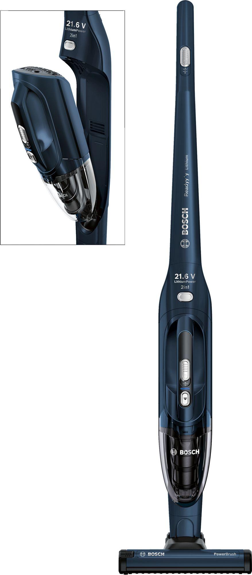 Bosch - Ready 2in1 Cordless Vacuum 21.6V - Blue
