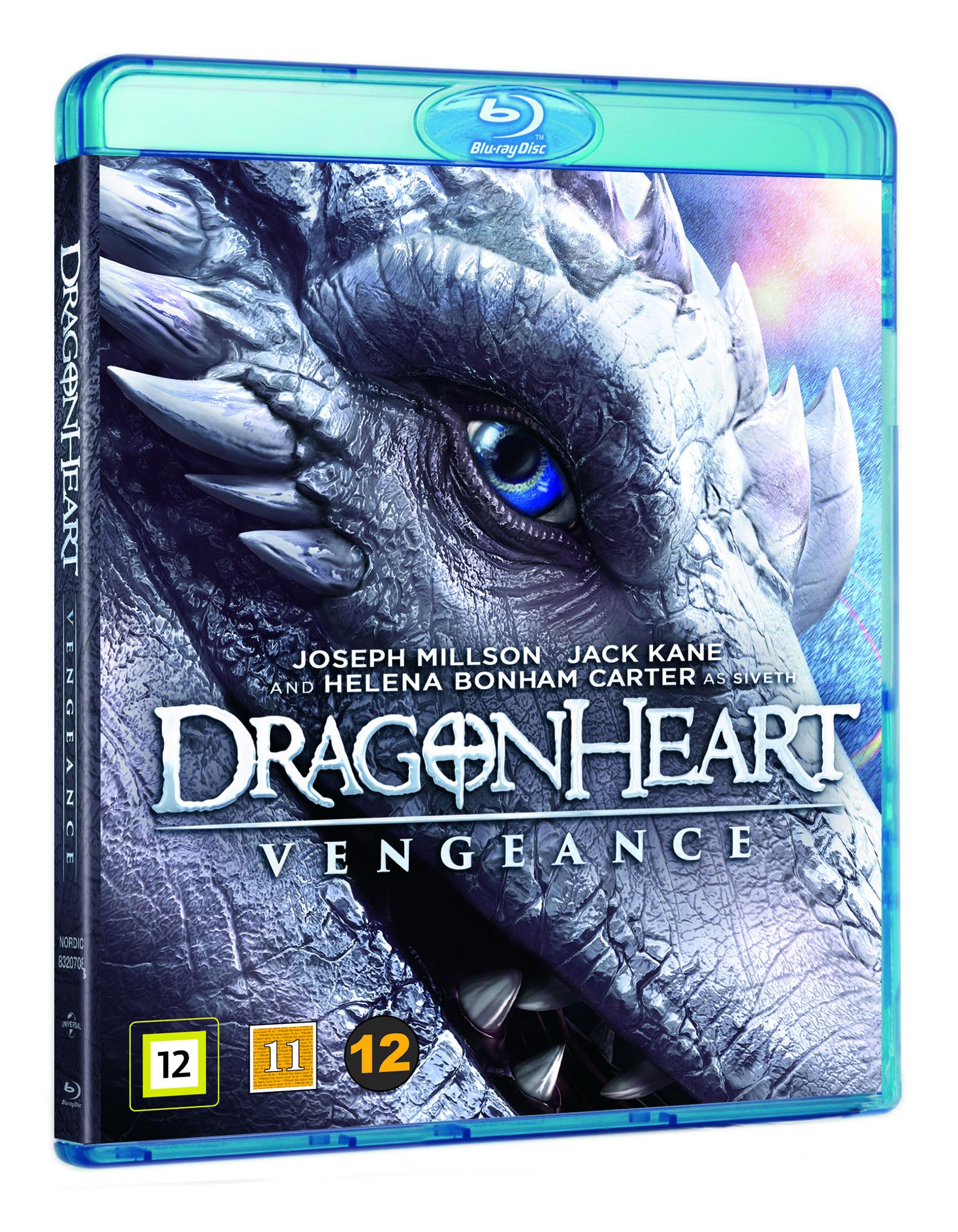 Dragonheart: Vengeance - Blu ray
