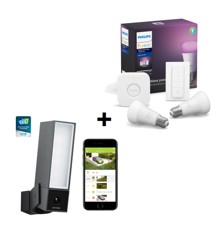 Netatmo - Presence  Camera + Hue Starter Pack - Bundle