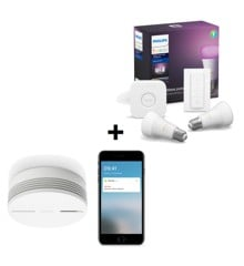 Netatmo - Smart Smoke Alarm & Hue Starter Pack - Bundle