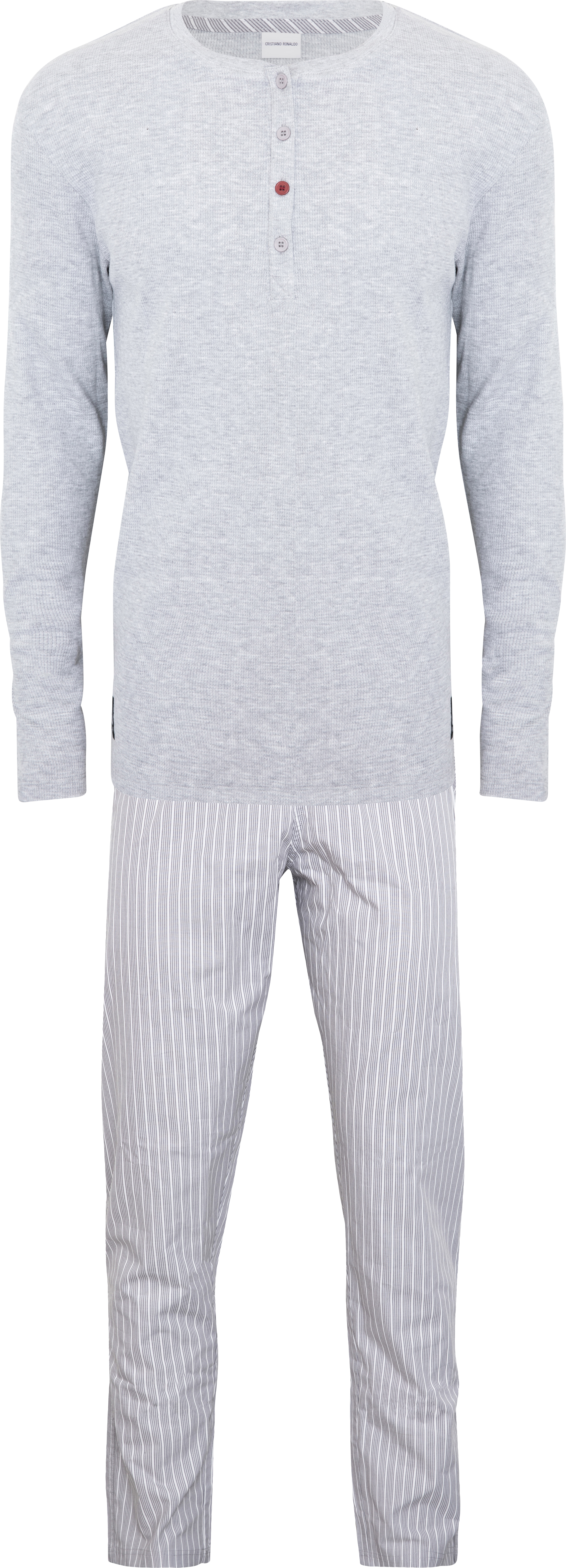 CR7  - Mens Pyjamas Set- Grey