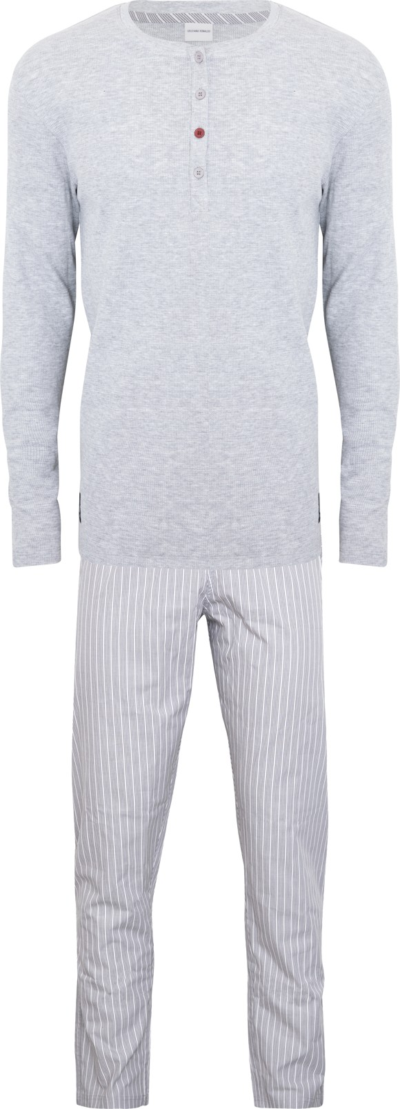 CR7  - Mens Pyjamas Set- Grey