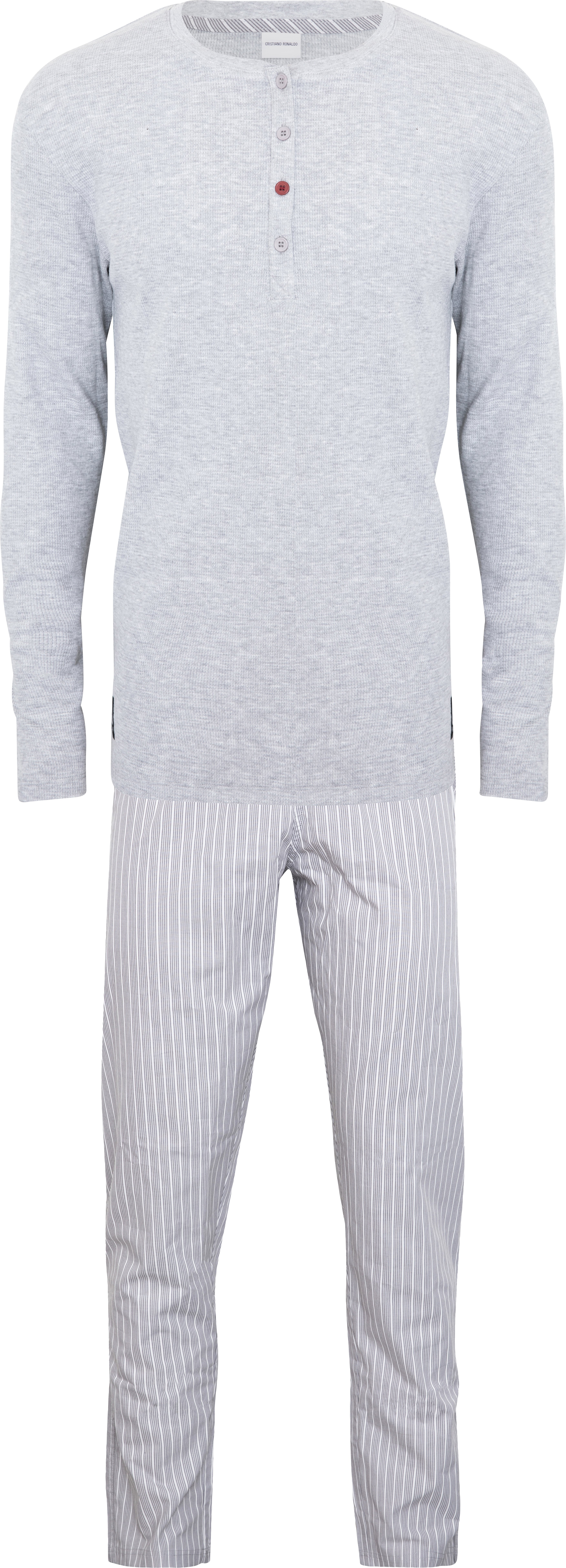CR7  - Mens Pyjamas Set - Grey