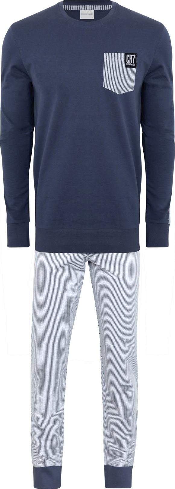 CR7  - Mens Pyjamas Set - Blue