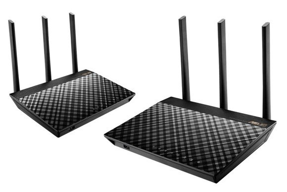 Asus - Wireless Router RT-AC67U 2pack