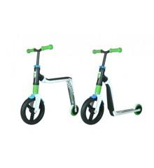 Scoot & Ride Highwayfreak - Løbehjul og Løbecykel i én - Grøn