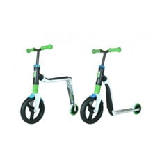 Scoot & Ride Highwayfreak - White/Green/Blue