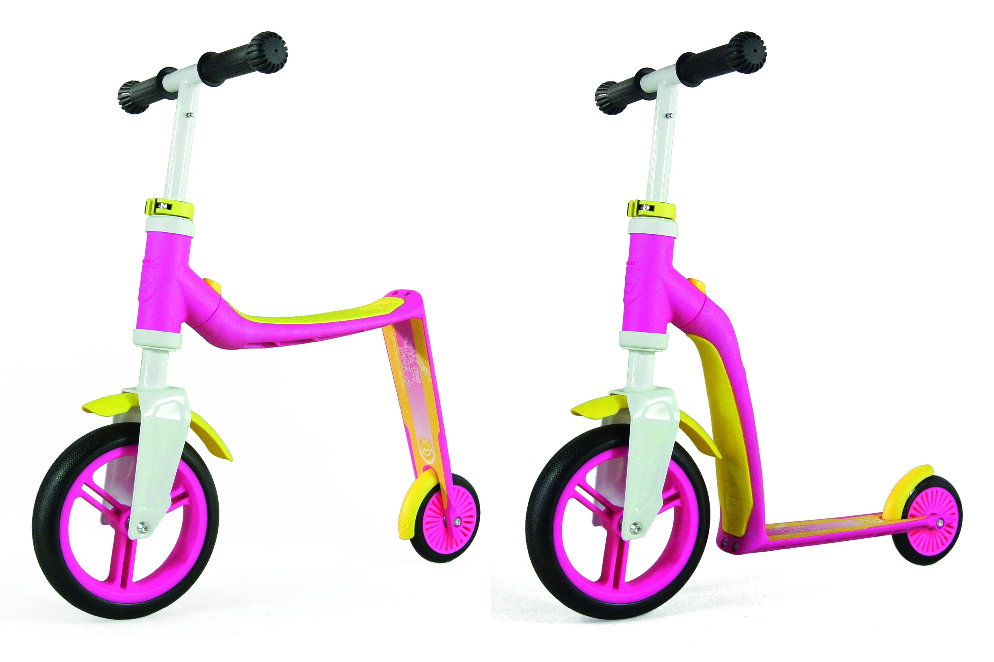 Scoot & Ride Highwaybaby - Løbehjul og Løbecykel i én - Blå   løbecykel og løbehjul