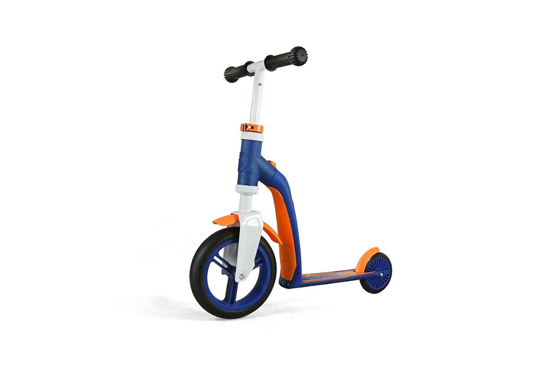 Scoot & Ride Highwaybaby - Løbehjul og Løbecykel i én - Blå | løbecykel og løbehjul