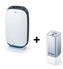 Beurer LR 500 WiFi Air purifier + HM 55 Thermo and Hygrometer