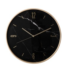 ​Bloomingville - Natur Wall Clock - Bench (82040238)
