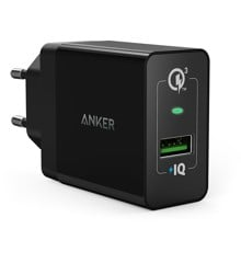 Anker - PowerPort+1 With Quick Charge 3.0