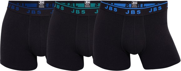JBS - Tights 3-Pack - Black,Blue, Grey
