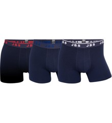 JBS - Tights 3-Pack - Navy, Red , White