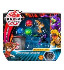 Bakugan - Battle Pakke - Darkus Cundeous & Aurelus Trox