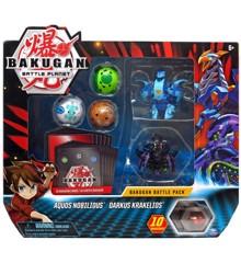 Bakugan - Battle Pack - Aquos Nobilious & Darkus Krakelios