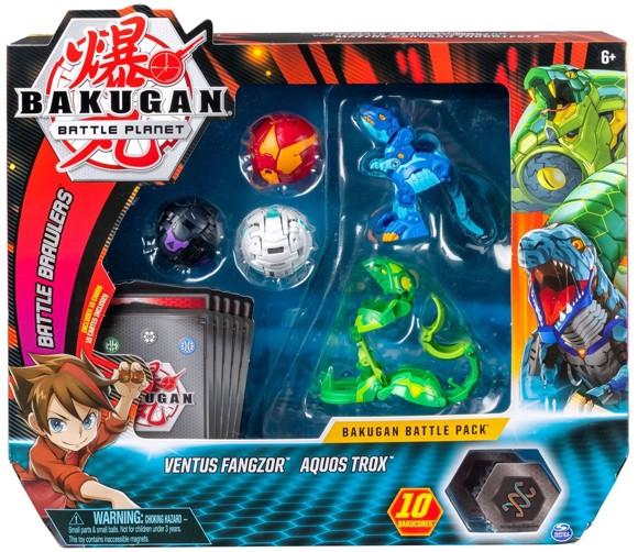 Bakugan - Battle Pack -  Ventus Fangzor & Aquos Trox