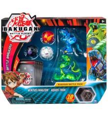 Bakugan - Battle Pakke - Ventus Fangzor & Aquos Trox