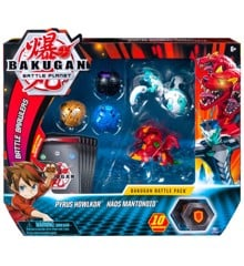 Bakugan - Battle Pack - Pyrus Howlkor & Haos Mantonoid