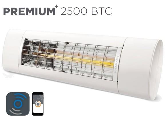 Solamagic - 2500 Premium+ BTC - Patio Heater - White - 5 Years Warranty