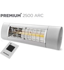 Solamagic - 2500 Premium+ARC Patio Heater​​ - Titanium - 5 Years Warranty