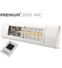 Solamagic - 2500 Premium+ARC Patio Heater​​ - White - 5 Years Warranty