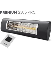Solamagic - 2500 Premium+ARC Patio Heater​​ - Antracite - 5 Years Warranty