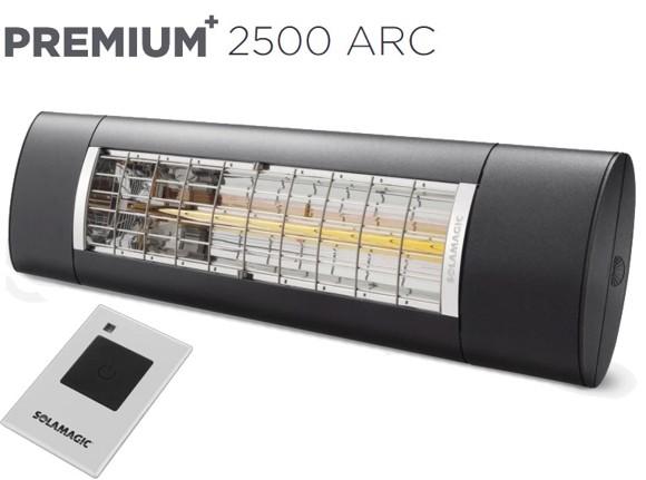 Solamagic - 2500 Premium+ARC Patio Heater - Antracite - 5 Years Warranty