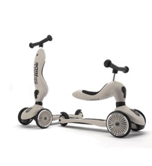 Scoot and Ride - 2 in 1 Balance Bike/ Scooter - Ash