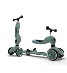 Scoot and Ride - 2 in 1 Balance Bike/ Scooter - Forest
