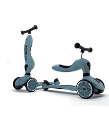 Scoot and Ride - 2 in 1 Balance Bike/ Scooter - Steel (160629-06)