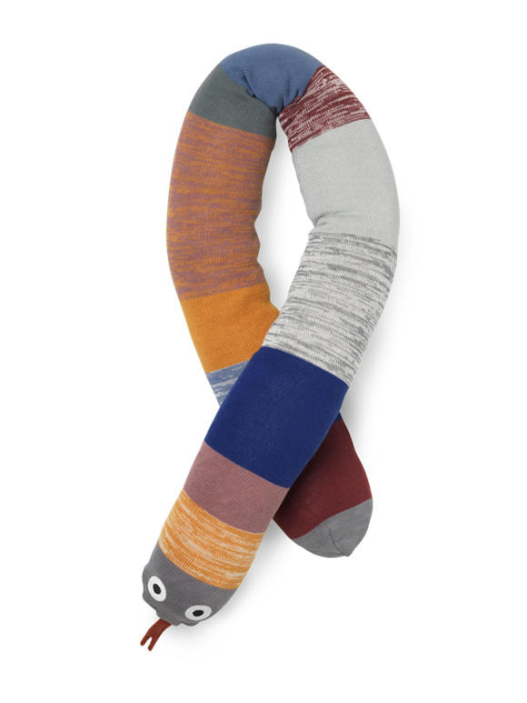 Ferm Living - Dusty Rainbow Snake - Multi (100055651)