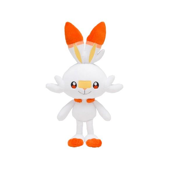 Pokemon - Plys Bamse 20 cm - Scorbunny