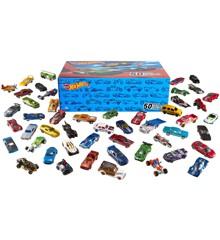 Hot Wheels - MEGA Gavepakke 50 biler
