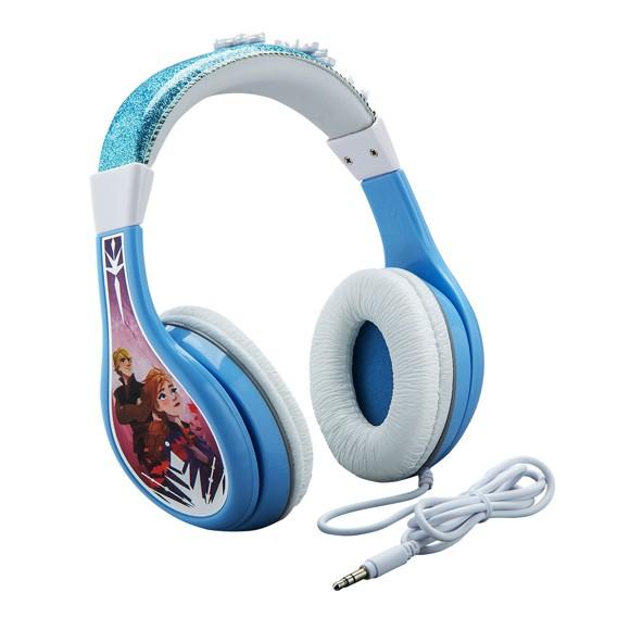 eKids - Frozen 2 - On-Ear Høretelefonermed volumekontrol