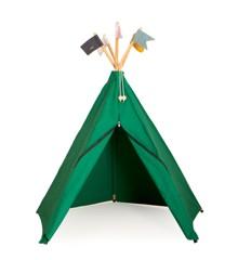 Roommate - Legetelt Hippie Tipi - Grøn