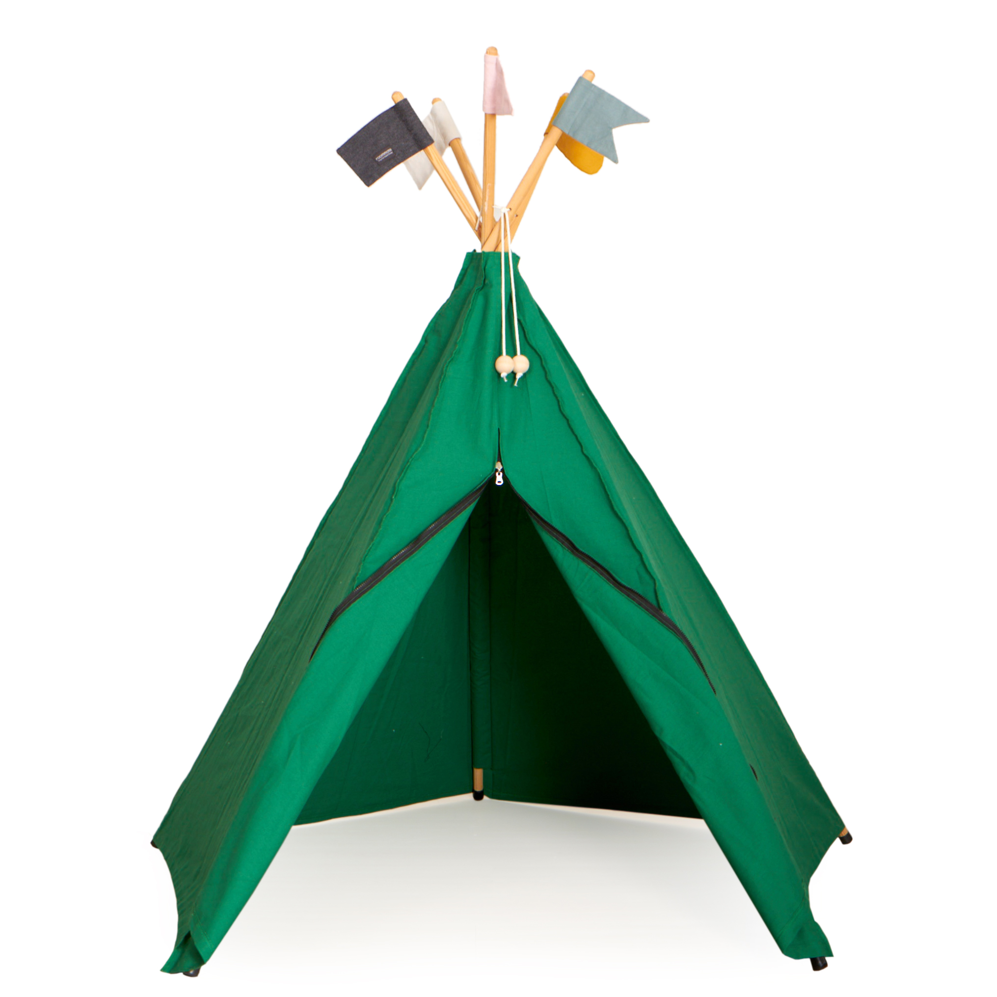 Roommate - Play Tent Hippie Tipi - Green (1003824)