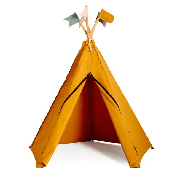 Roommate - Play Tent Hippie Tipi - Okker (1003152)