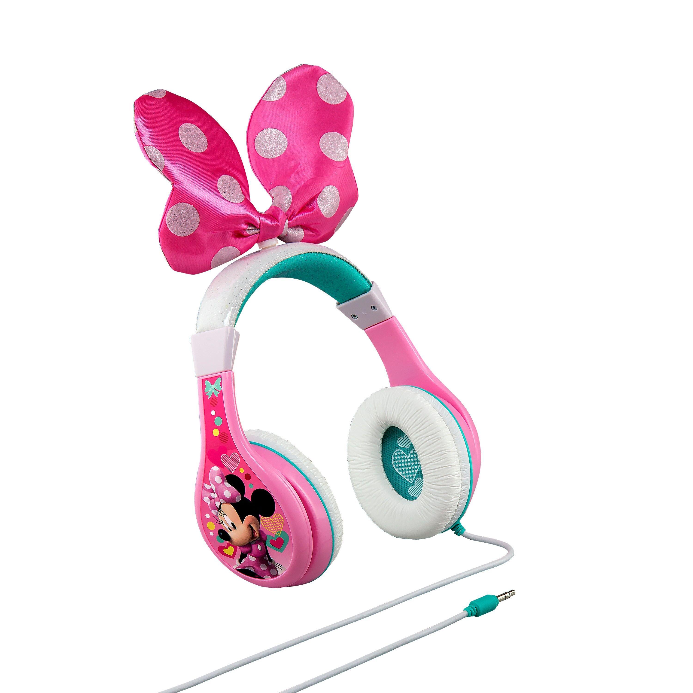 Billede af eKids - Minnie Bow-tique - Over-Ear Høretelefoner med mikrofon