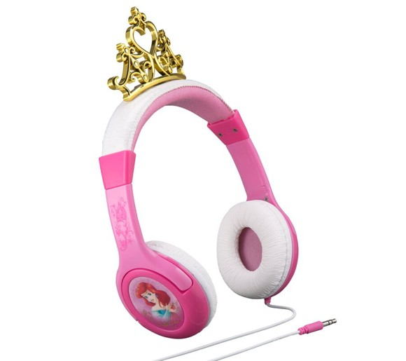 eKids - Disney Princess - On-Ear Høretelefoner med volumekontrol