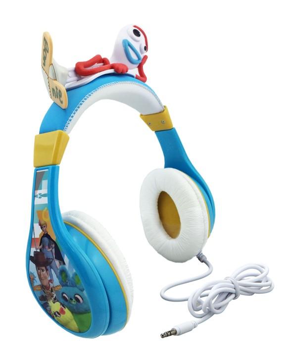 eKids - Toy Story 4 - Over-Ear Høretelefoner med  volumen kontrol