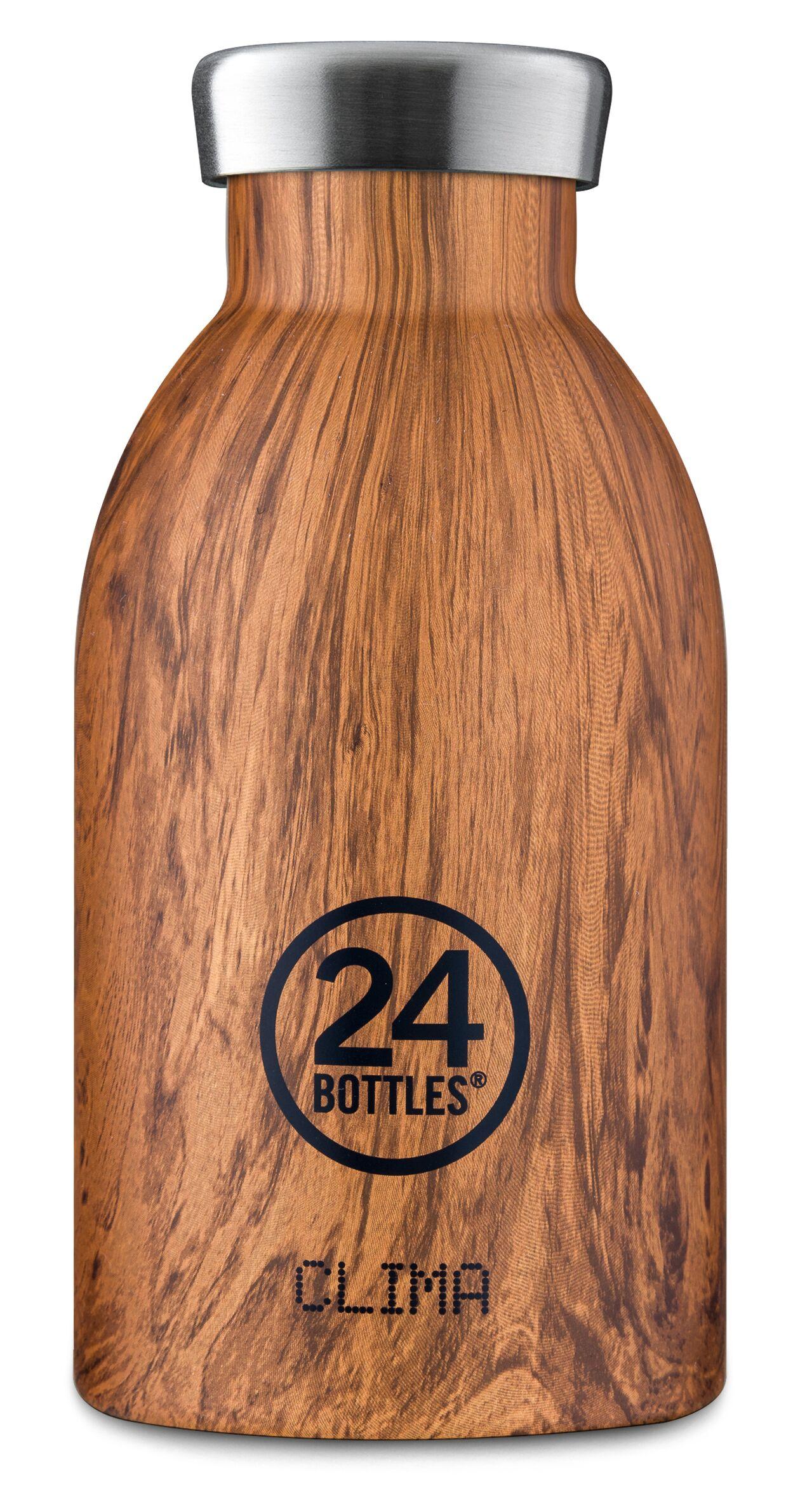 Bilde av 24 Bottles - Clima Bottle 0,33 L - Sequoia Wood Print
