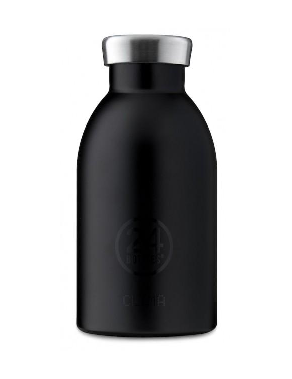 Bilde av 24 Bottles - Clima Bottle 0,33 L - Tuxedo Black